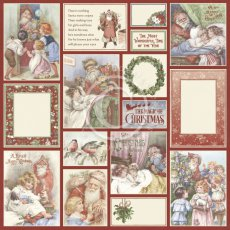 PD30013 Papier jednostronny 30,5x30,5cm  - A Christmas to Remember-Santa delivers