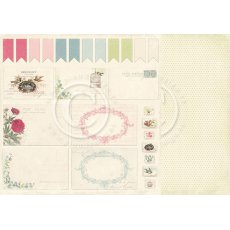 PD3611 Papier dwustronny Cut out - Vintage Garden