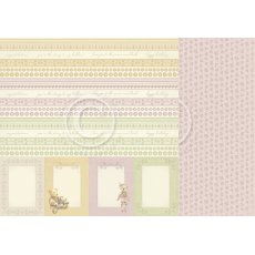 PD8610 Papier dwustronny 30,5x30,5cm- Theodore and Bella-Borders
