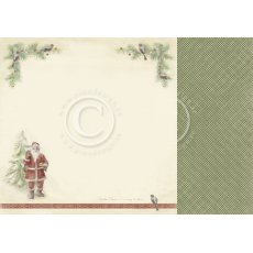 PD9805 Papier dwustronny 30,5x30,5cm-Christmas Wishes-December birds