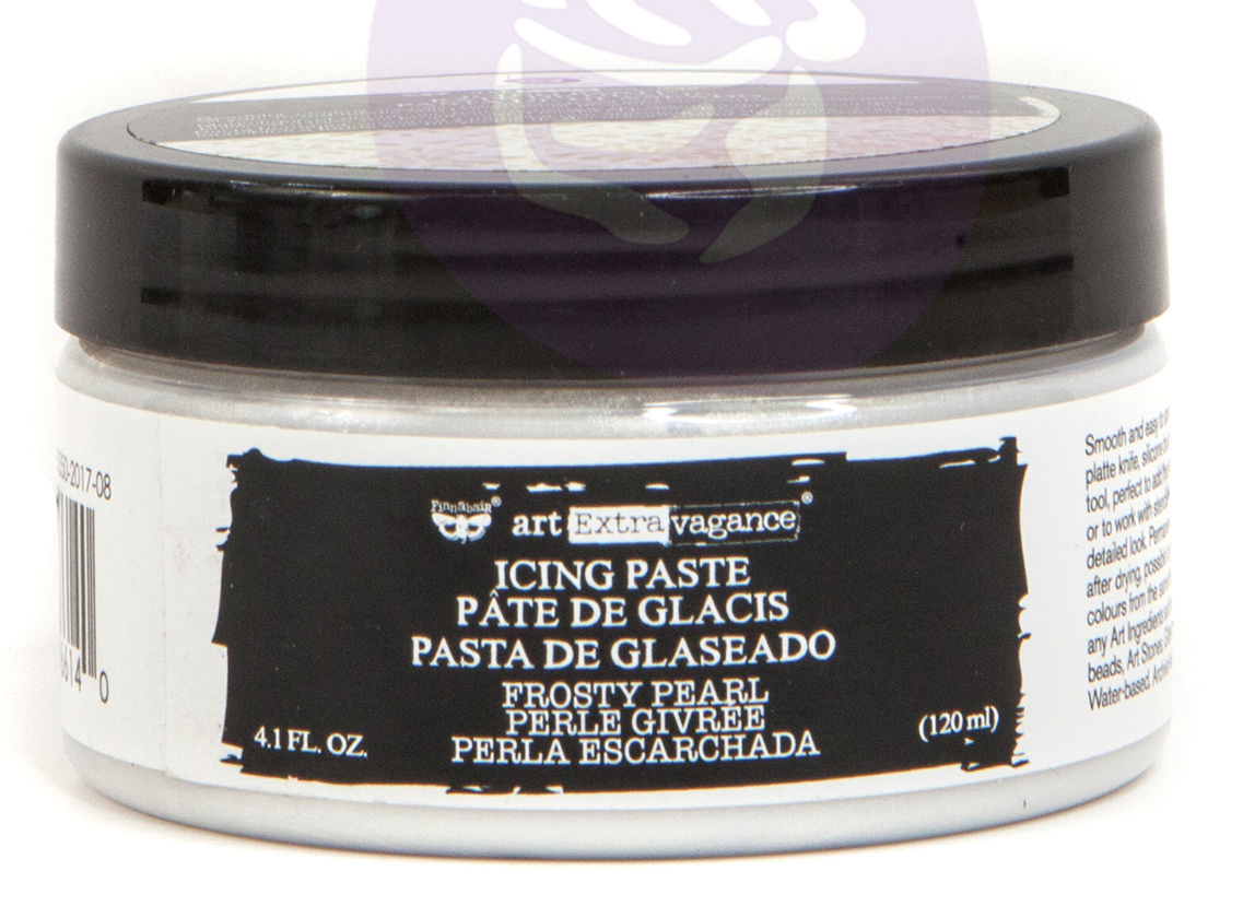 PM966140 Pasta - Finnabair Art Extravagance Icing Paste - Prima-frost/pearl