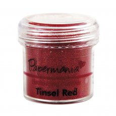 PMA4021013 Puder do embossingu Tinsel Red