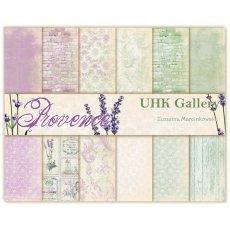 PROVENCE -zestaw papierów 30,5x30,5 UHK Gallery