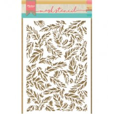 PS8004- Maska Marianne Design - feathers-piórka