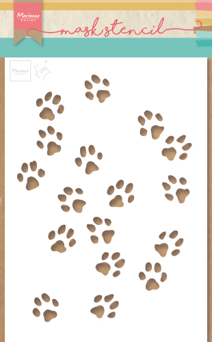 PS8029 Maska- Marianne Design - Tiny\'s Cat Paws