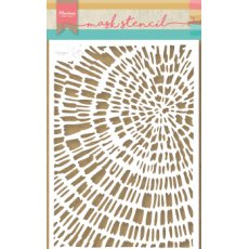 PS8040 Maska- Marianne Design -Tiny\'s Silced Wood