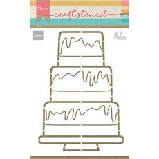 PS8057 Maska - Marianne Design -Party Cake by Marleen - tort