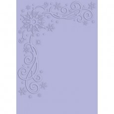 S-GS-EF5-TOWI Folder do embossingu Glittering Snowflakes - Touch of Winter - dotyk zimy 12,7 x 17,78cm