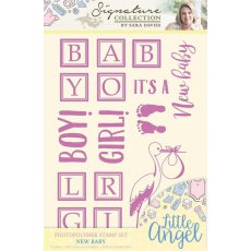 S-LA-ST-BABY Little Angel- Stemple -New Baby