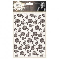 S-RW-EF5-ELER Folder do embossingu Rustic Wedding-Elegant Rose