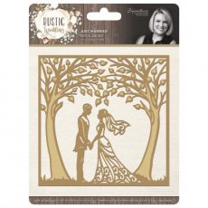 S-RW-MD-JM Wykrojnik Rustic Wedding - Just Married