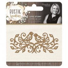 S-RW-MD-LS Wykrojnik Rustic Wedding - Love Story
