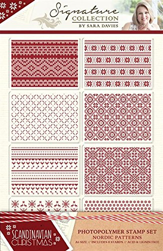 S-SX-ST-NPAT Stemple -Scandinavian Christmas-Nordic patterns
