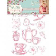 S-VTP-ST-TFT Stemple - Vintage Tea Party - Tea for Two