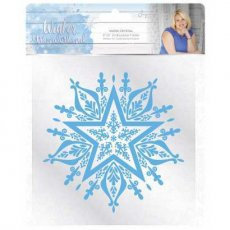 S-WW-EF6-SC Folder do embossingu Winter Wonderland - Snow Crystal 15,2x15,2 cm