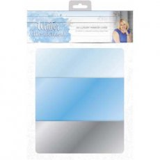 S-WW-MIRROR Zestaw papierów A4- Winter Wonderland - Luxury Mirror Card