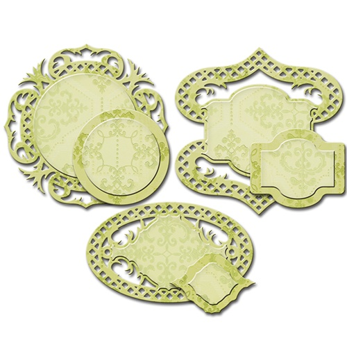 S4-530 Wykrojniki Spellbinders-Fancy Framed Tags Four