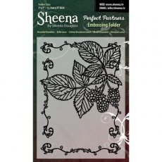 SD-PPEF-BRAM - Folder do embossingu Beatiful Brambles - Sheena by Sheena Douglas