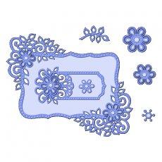 SDD097 Wykrojniki Sweet Dixie -Fancy Floral Frames