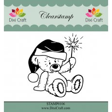 STAMP0106 Stempel Dixi Craft - miś 2