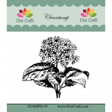 STAMP0139 Stemple Dixi Craft - Botanical Collection-hortensja