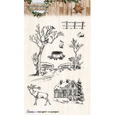 STAMPWW192 - Stemple StudioLight- Woodland Winter