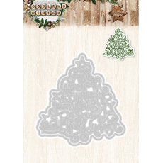STENCILWW38 - Wykrojnik StudioLight - Woodland Winter -choinka