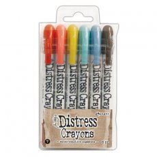 TDBK51770 Kredki Distress Crayons - Ranger Ink - Set#7