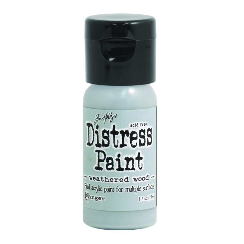 TDF53378 Distress Fliptop Paints -Weathered Wood