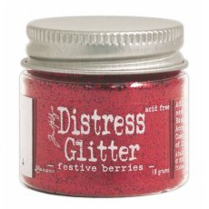 TDG39174 Brokat sypki- Distress Glitter -Festive Berries