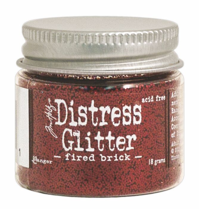 TDG39181 Brokat sypki- Distress Glitter -Fired Brick
