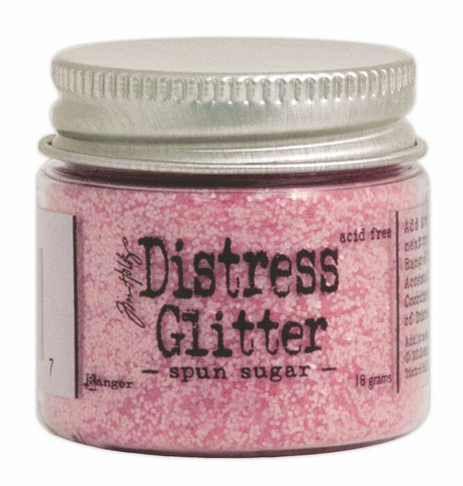 TDG39297 Brokat sypki- Distress Glitter -Spun Sugar