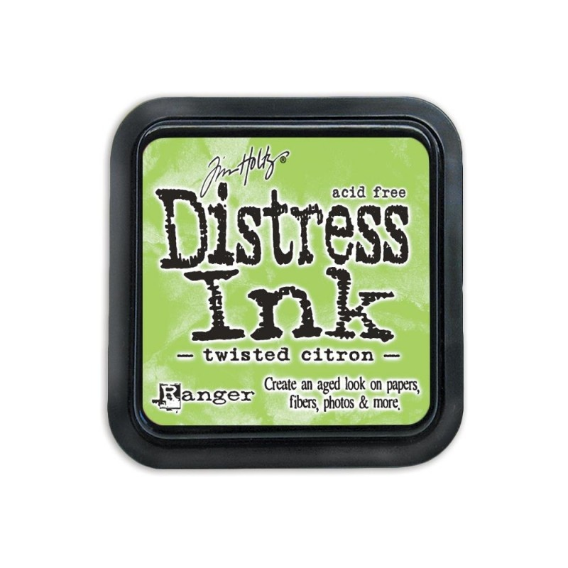 TIM43294 Tusy Distress Ink Pad Twisted Citron