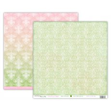 UHK-AV-DBD-SM04 AVONLEA-SUMMER-WHITE WAY OF DELIGHT-PAPIER DWUSTRONNY 30,5 x 30,5 cm