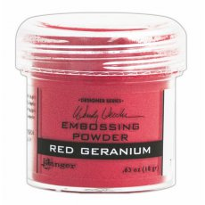WEP43911 Puder do embossingu Wendy Vecchi Red Geranium
