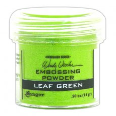 WEP48046 Puder do embossingu Leaf Green Ranger