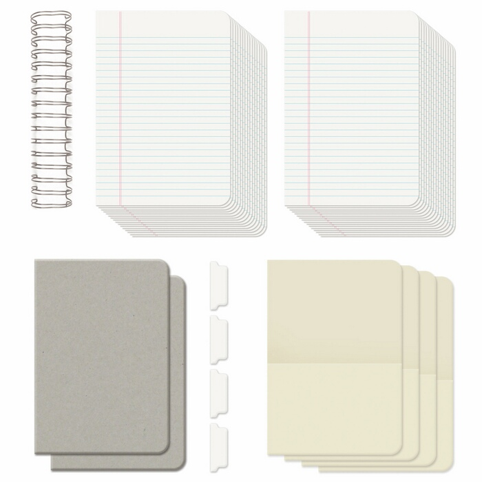 WR62363-2 Baza-notatnik-dziennik WRMK - THE CINCH KIT JOURNAL