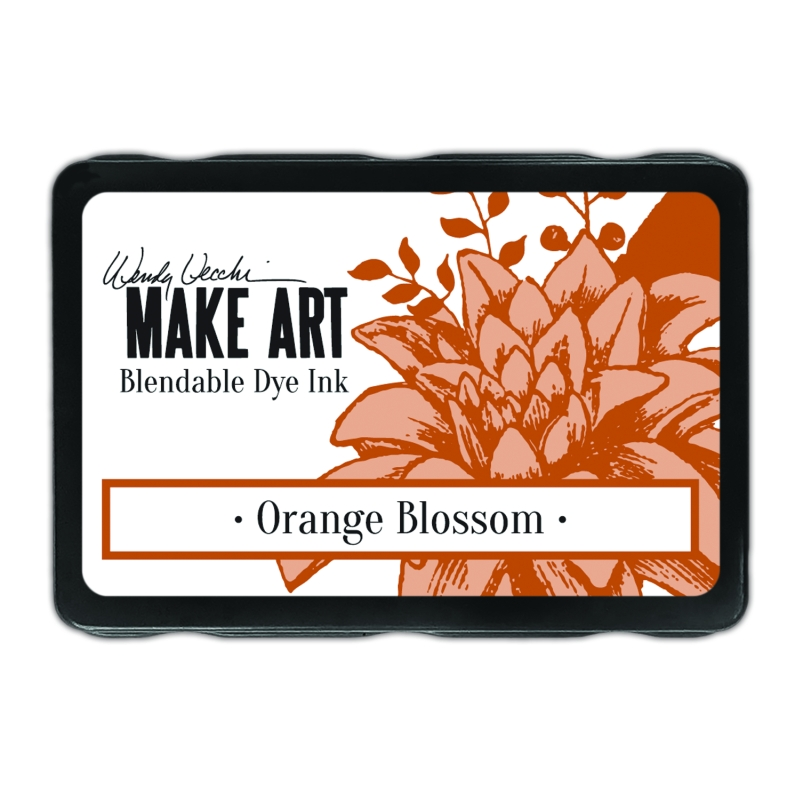 WVD62615 Tusz Wendy Vecchi MAKE ART Bleandable Dye Ink- Orange Blossom