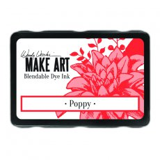 WVD62622 Tusz Wendy Vecchi MAKE ART Bleandable Dye Ink- Poppy