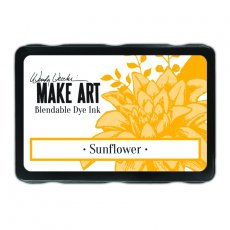 WVD62653 Tusz Wendy Vecchi MAKE ART Bleandable Dye Ink- Sunflower