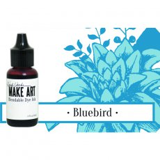 WVR62691 UZUPEŁNIACZ- Tusz Wendy Vecchi MAKE ART Bleandable Dye Ink-Bluebird