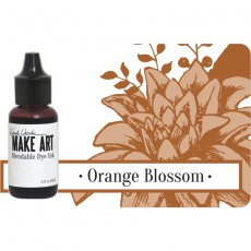WVR62738 UZUPEŁNIACZ- Tusz Wendy Vecchi MAKE ART Bleandable Dye Ink-  Orange Blossom