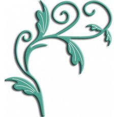 Wykrojnik Tropical Flourish B127