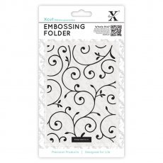 XCU515126 Folder do embossingu - A6 Delicate Flourishes-zawijaski