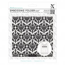 XCU515185 Folder do embossingu 15x15 - Damask Background