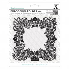 XCU515209 Folder do embossingu 15x15-Ornate Frame -ramka